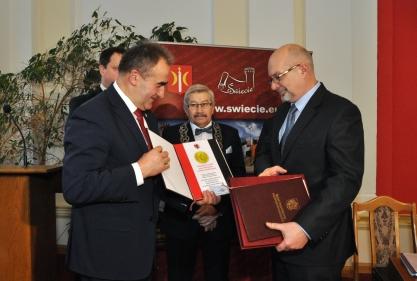 Medal dla Towarzystwa Miłośników Ziemi Świeckiej 5