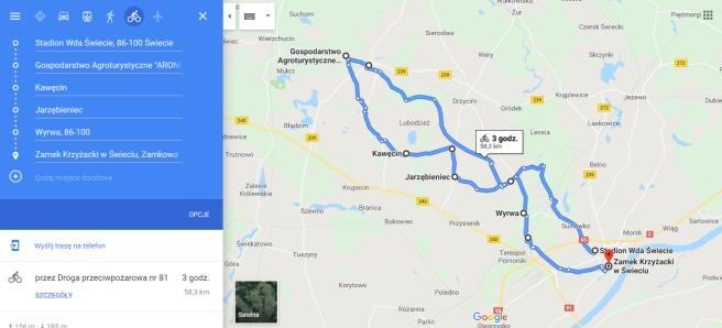 PEŁNA TRASA - 58.3 KM